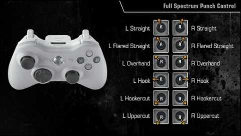 Full Spectrum Punch controls.