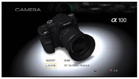 A Sony-branded camera.