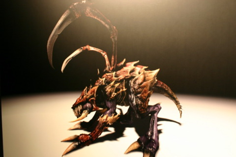The Zerglings from StarCraft Ghost
