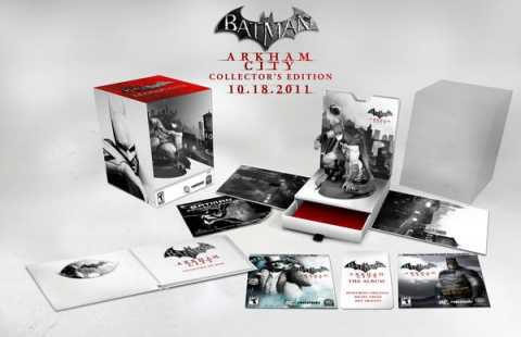 The Collector's Edition of Batman: Arkham City
