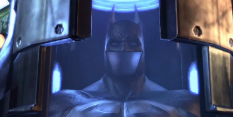 The Batsuit. Seems like you might want to put this on. Fast.