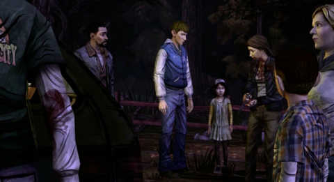 Clem stands on her morals with the group.