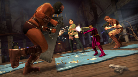 You may take over the city, but make no mistake: In Saints Row: The Third, it's chaos that reigns.