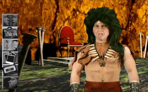 Jason Hervey, portraying the Troll King