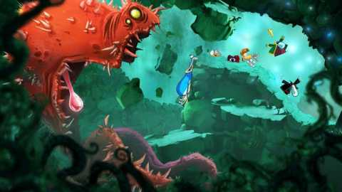 Even when it's trying to be ugly, Rayman: Origins looks beautiful.