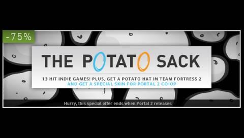 Steam ad for The Potato Sack.