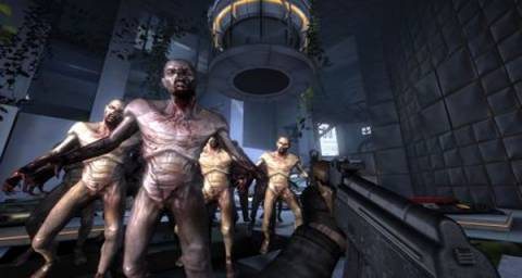 An example of a crossover between Portal 2 and one of the games from The Potato Sack (Killing Floor).