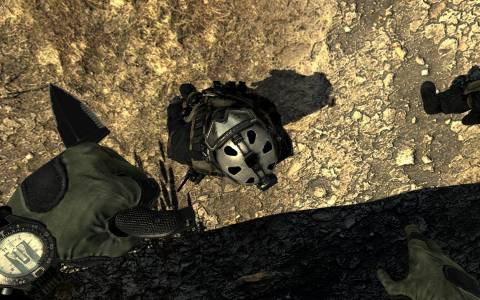 Knifing some Shadow Company troops from above