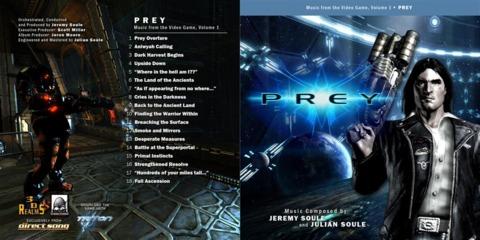 Prey -  Artwork for CD 1