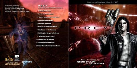 Prey - Artwork for CD 2