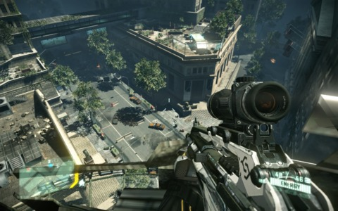 The freedom in Crysis 2 is very welcome after playing so many close quarter games.
