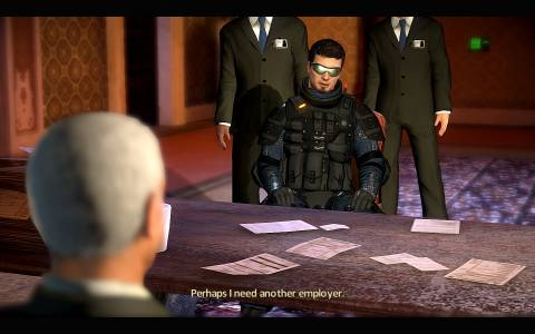 When a conversation starts in Alpha Protocol, you have a limited window to make a choice.
