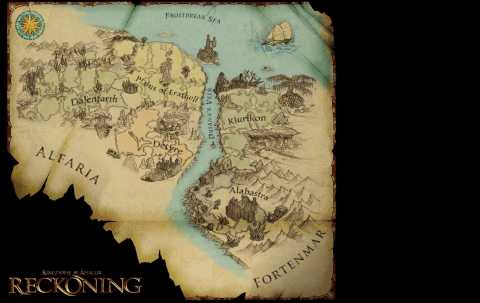 The game is set in the region around Faelands