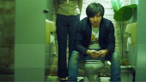 In absence of any Killer is Dead assets, here is my favorite picture of Suda 51 on a toilet. Surprisingly, there are several to choose from.