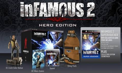 The inFamous 2 Hero Edition