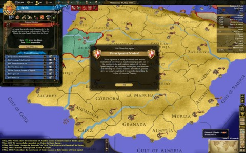 The formation of Spain as Castille