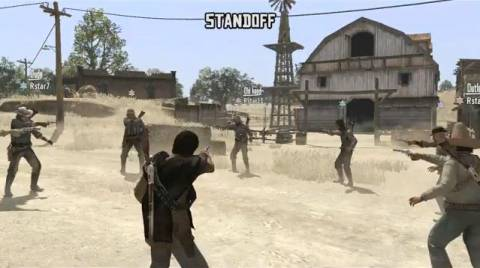 Competitive games begin with a Mexican Stand-Off