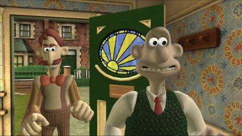 Wallace meets Monty Muzzle.