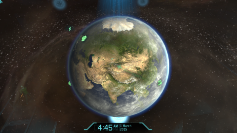 Mission Control replaces the regular Geoscape in XCOM: Enemy Unknown.