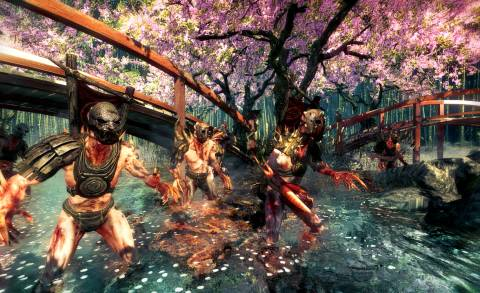 Shadow Warrior's first levels are striking
