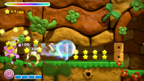 The star dash is one of the few special abilities that Kirby has access to.