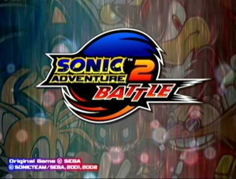 The title screen to the game.