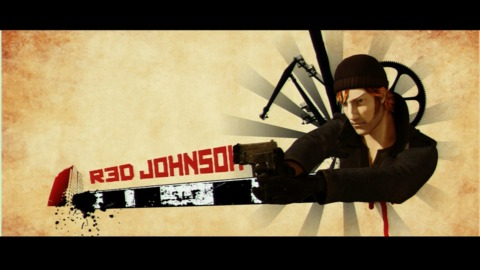 Red Johnson, Ready for Action!