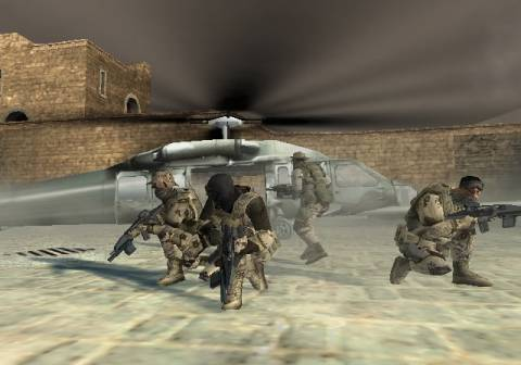 Your squad carefully checks the area before evacuating
