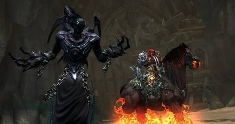 By the end of Darksiders, you're ready to beat the living snot out of Mark Hamill's character.