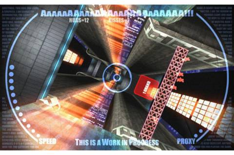 The developers of AaaAaaaAa are avoiding taking a stance, while also sorta taking a stance.