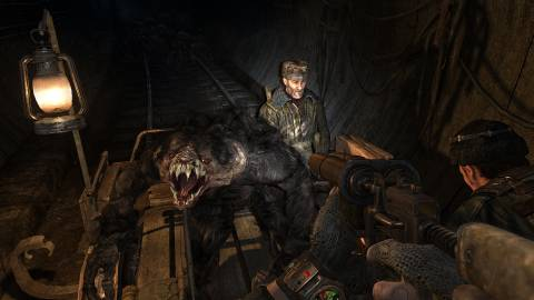 You should buy Metro 2033, and then you should put the Russian language on, and then PLAY.