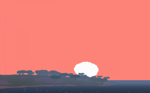 Proteus generates a world just for you every time it boots up, but there are common moments and seasons in every one.