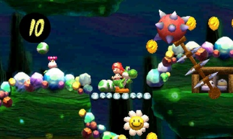 These caves will look familiar to anyone who's played Yoshi's Island before.