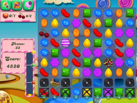 Candy Crush Saga is just one of many free-to-play (free-to-win?) games that dominate mobile game design .