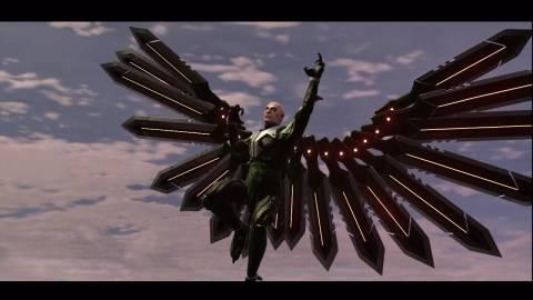 Vulture Soars
