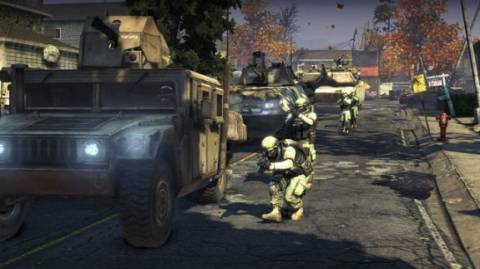Vehicles play a big role in multiplayer.