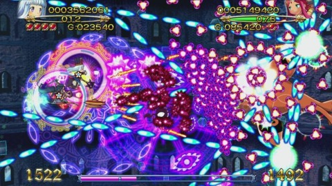 The bullet hell shooter lives up to its name.