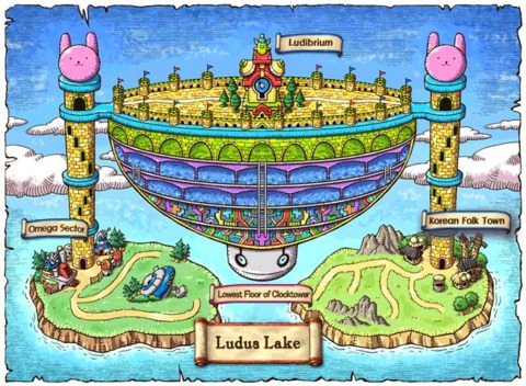 Ludus Lake