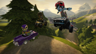 ModNation Racers features urban vinyl-styled characters