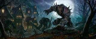 The first new playable race, the Worgen