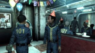 A traditional birthday party in a Vault