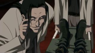 Professor Hojo as he appears in Last Order.