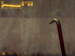 The famous crowbar.