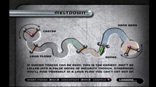 Meltdown course layout