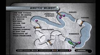 Arctic Blast course layout