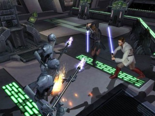 Some missions have a bonus cooperative mode, where each player controls one of the two characters.