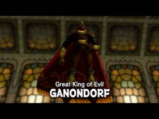 Only the Great King of Evil can stand up to the power of Z-Targeting with his aura of evil.