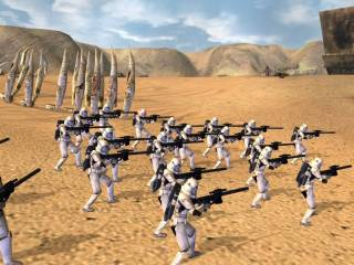 As the empire, the main ground unit is the stormtrooper...duh?