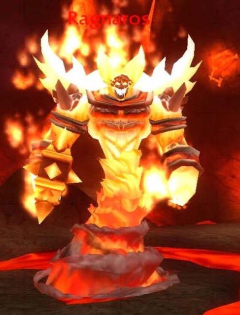 Ragnaros - The final boss of Molten Core.