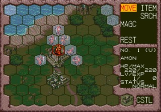 Units can only move to hexes that appear clear.